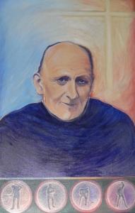 Porträt von Pater Anton Maria Schwartz